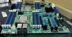 INTEL S2600CP Dual LGA2011 CPU Server Motherboard with 2x E5-2620V2 CPU included