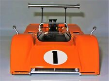 1 1967 McLaren w/ Chevy V8 Race Car Vintage F GT 24 Sport 18 Carousel Orange 12