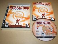 Red Faction: Guerrilla for PlayStation 3 Complete Fast Shipping