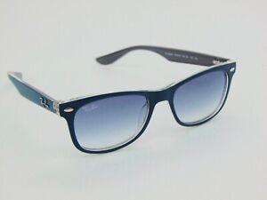 Ray Ban Jr. RJ 9052S 7034/19 New Wayfarer Matte Blue Kids Sunglasses