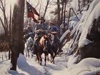 John Paul Strain Escape From Fort Donelson Signed-Limited-Certificate-Print