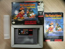 Super Nintendo Game * MAGICAL QUEST STARRING MICKEY MOUSE * Complete SNES US