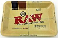 "RAW ""MINI"" TRAY Vintage Style Metal Small Rolling Tray 7"" x 5"""
