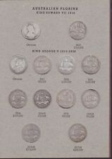 Florin Set Australia inc varieties & mint marks missing only 1932 1934/35