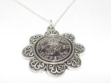 More details for 1951 70th lucky sixpence floral sixpence birthday anniversary 1937-1951 18in ch