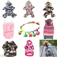 Cute Dog Cat Clothes Winter Warm Pet Small Puppy Coat Apparel Hoodie Costume