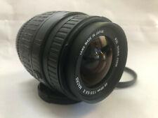 Sigma Aspher 28-80mm Macro Lens 1:3.5-5.6 II Pentax + LENS CAPS + UV FILTER