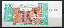 Probebanknote Specimen Algerien 10 / 500 Dinar 1985