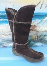 Sporto Patch Dark Brwon Suede Waterproof Thermolite Boots 7.5 M