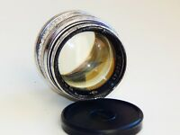 VERY RARE SILVER JUPITER 3 1,5/50mm Russian lens (Fed, Zorki, Leica) M39