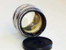 VERY RARE SILVER JUPITER 3 1,5/50mm Russian lens (Fed, Zorki, Leica) M39