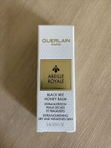 Guerlain Abeille Royale Black Bee Honey BALM Dry Skin Salve Mini 3ml Boxed