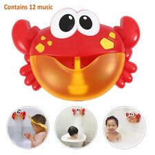 Machine bulle bec automatisée fabricant crabe jouet douche jeu enfants maison