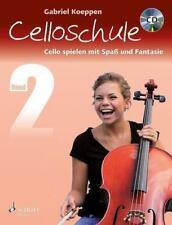 Celloschule Band 2 mit CD Gabriel Koeppen - NEUWERTIG !