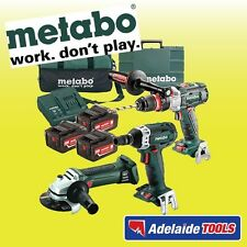 Metabo 18V 5.2Ah 3 Piece Li-Ion BRUSHLESS Combo Kit - SBLTXBLISSDW18200