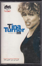 Tina Turner  Simply The Best Cassette Tape album TC-C4 96630 Saudi Arabia import