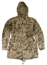 "German Parka Original Army Bundeswehr Tropical Desert Hooded Camouflage 38-40"""