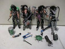 4 McFarlane Kiss Action Figures