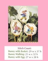 EASTER PLANT POKES  -  CROSS STITCH PATTERN ONLY HM - WYP