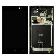 For Nokia Lumia 925 LCD Display Touch Screen Assembly Frame Digitizer Tool Black