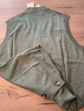 Brunello Cucinelli Cashmere Waistcoat Vest Cardigan Jumper Jacket 56