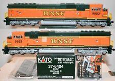BNSF 9853 SD70MAC Heritage II Scheme  Kato HO  37-6404 F26.6