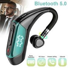 Boltune Black Waterproof Wireless Bluetooth 5.0 Headphones 16 Hours play time
