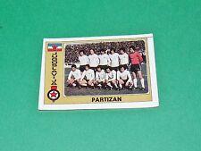 N°153 PARTIZAN BELGRADE TEAM JUGOSLAVIJA PANINI EURO FOOTBALL 1976-1977