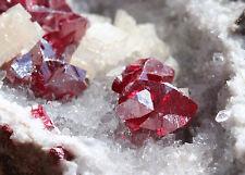 1.0lbs  Ruby Cinnabar Mineral Crystal Display Specimen!