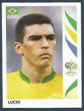 PANINI FIFA WORLD CUP-GERMANY 2006- #384-BRAZIL-LUCIO