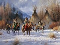 """Hunter's Morning"" Martin Grelle Limited Edition Fine Art Giclee Canvas"