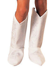 Child Std. Girls Dallas Cowboys Cheerleaders Costume Boot Tops - Dallas Cowboys