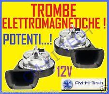 TROMBE ELETTROMAGNETICHE CLACSON PER GRANDE PUNTO CIVIC C2 C3 FABIA SMART IBIZA