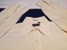 Norman Men's Beige Cotton Button Down Oxford Shirt