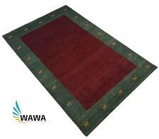 Gabbeh Teppich 120x180 cm Handgeknüpft ~ 100% Wolle ~ Reine Schurwo