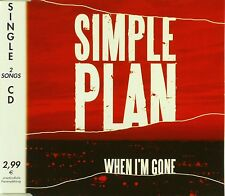 Maxi CD - Simple Plan - When I'm Gone - #A2700