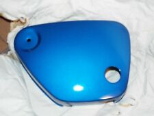 YAMAHA YG1 NOS SIDE COVER LEFT BLUE GENUINE OEM VINTAGE