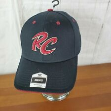 Sacramento Rivercats RC Black Red Hat Cap Minor League Baseball Fan Favorite OS