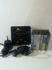 Sega Megadrive Bundle console and 6 games - working
