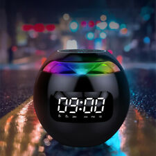 2020 new bluetooth speaker home small subwoofer car surround small audio clock