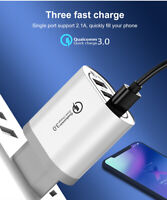 USB 3 Ports Fast Charging QC 3.0 Charger Plug For iPhone Samsung Xiaomi Huawei