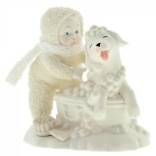 Snowbabies Bath Time  Snowbaby & Dog Figurine 6001851