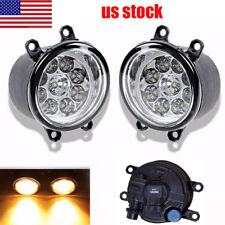 2Pcs Fog Light Lamp Left Right RH LH Side Fit For Lexus Toyota Camry Yaris Amber