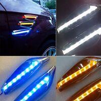 1 paire Clignotant Auto LED Clignotants Marqueur led Feu Clignotants