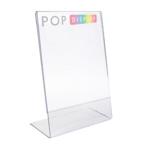Lean Back Menu Stand, Poster Holder, A6 Size, High Impact. GREAT PRICE!