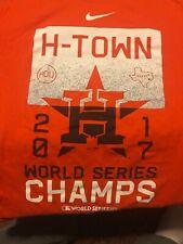 Nike Mens size XL Houston Astros world series 2017 shirt