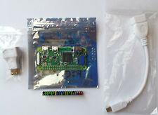 Raspberry Pi Zero WH mit Mini HDMI Adapter + Micro USB Adapter + GPIO Header