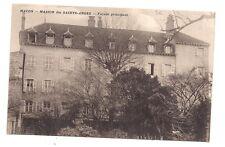 macon  maison des saints-anges  ,façade principale