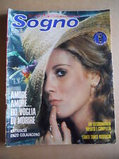 SOGNO Fotoromanzo n°42 1975 ed. Lancio  [G579]