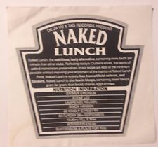 rave flyers De Ja Vu + Tag Records present Naked Lunch 28/09/1991